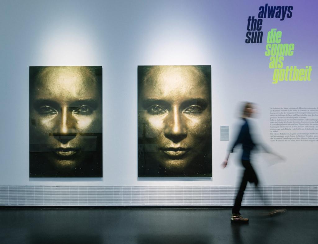 """Die Ausstellung """" Shine on me . Wir und die Sonne """" am 27.09.2018 im Hygienemuseum in Dresden ."""