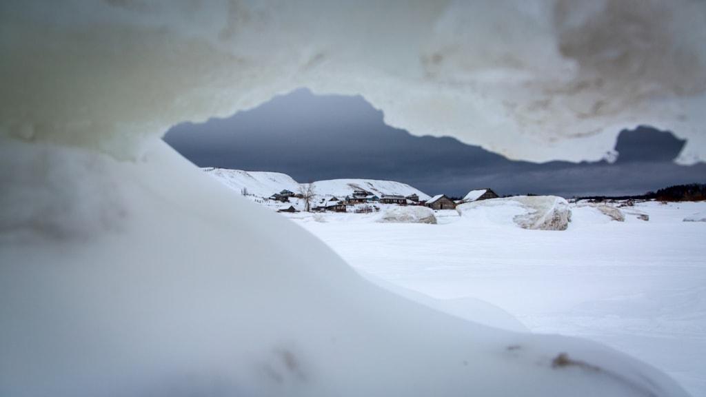 Eiskalt und rau geht es zu im Norden Russlands.