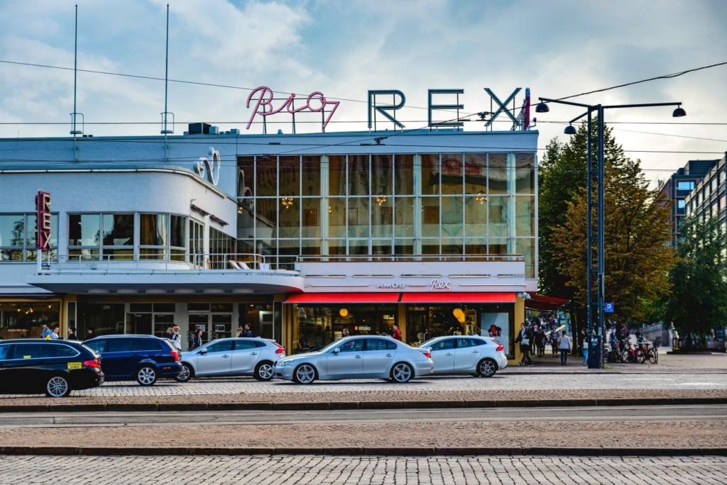 Bio Rex Cinema in Helsinki