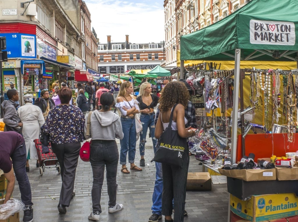 Brixton-Market in London