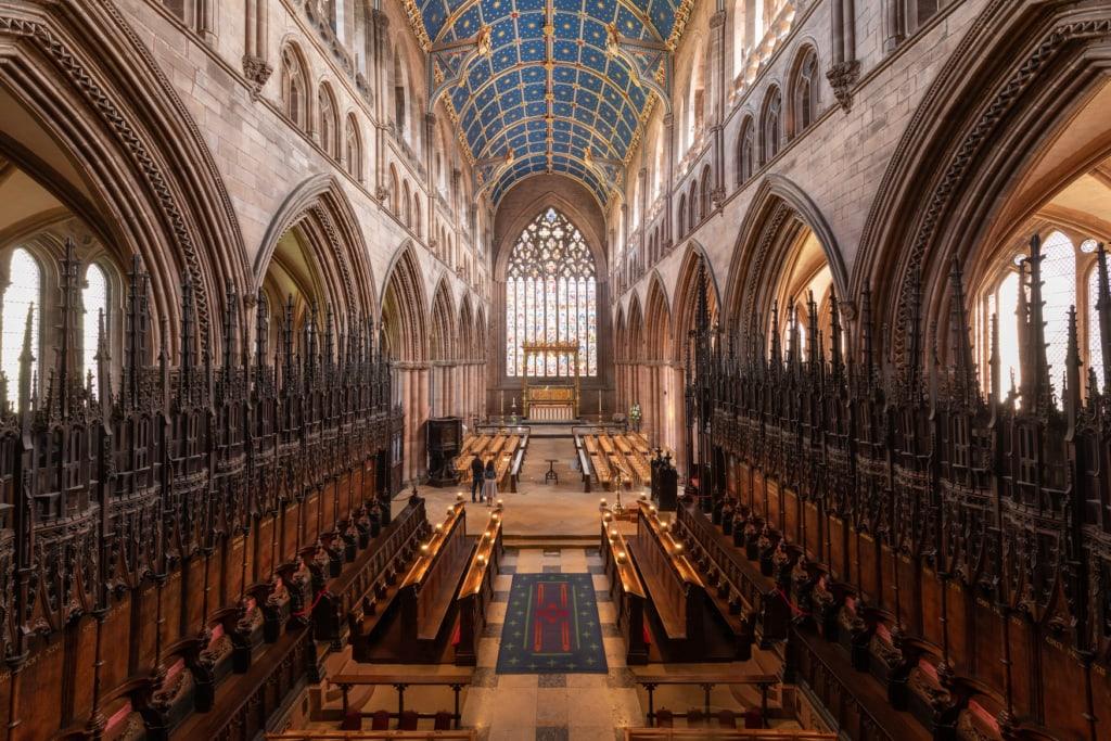 Carlisle Cathedral von innen