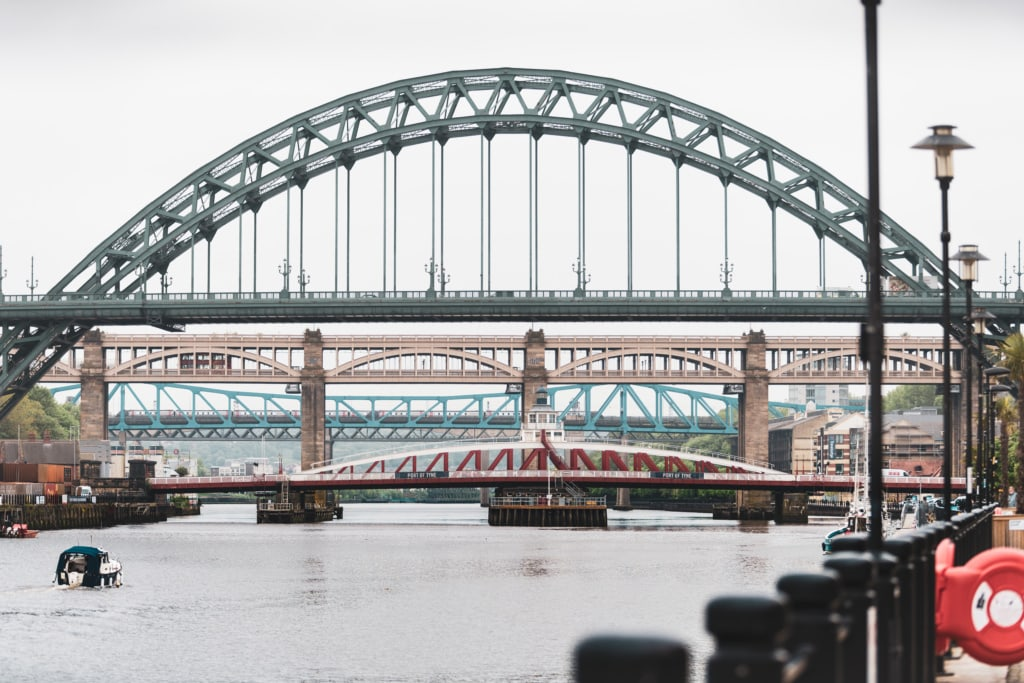 In Newcastle endet »England's Great Walking Trail«.