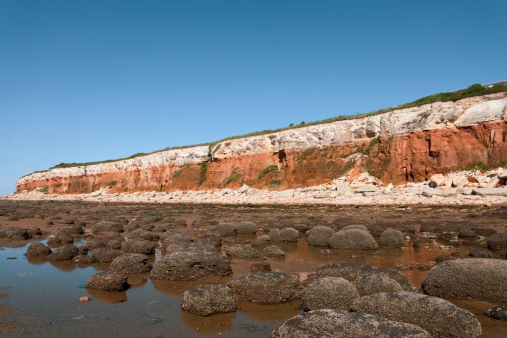 Norfolk ist berühmt für seine roten Klippen, »England's Great Walk« führt direkt daran vorbei.
