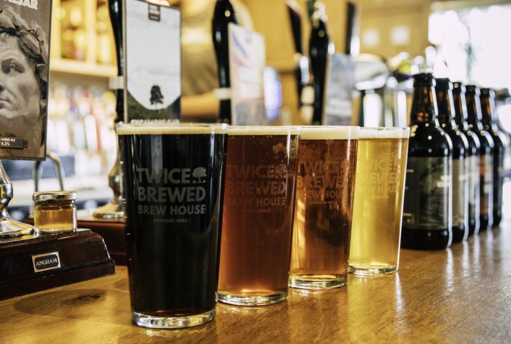 Twiced Brewed an der Hadrians Wall braut tatsächlich wieder Bier – und was für eins!