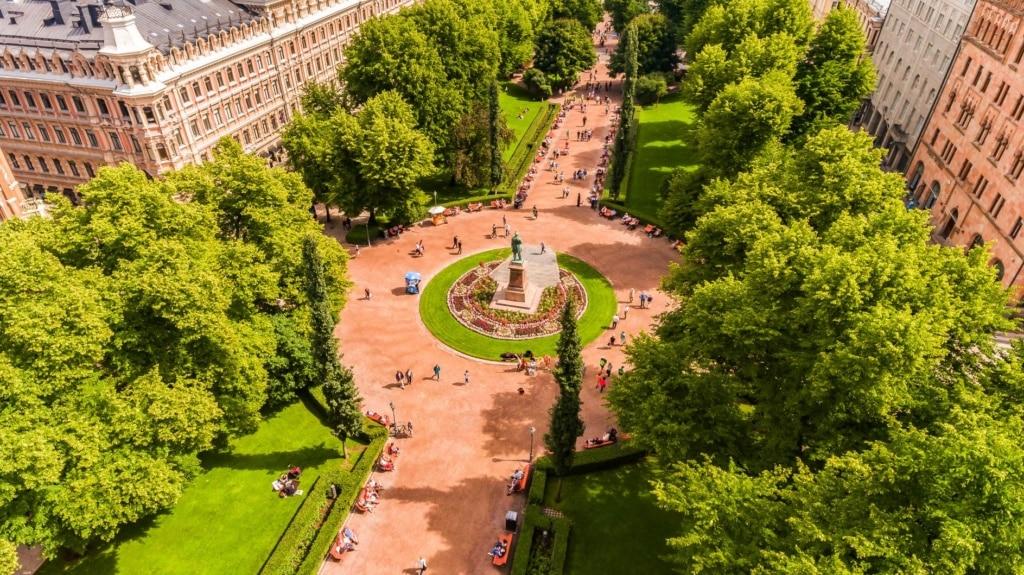 Esplanade in Helsinki