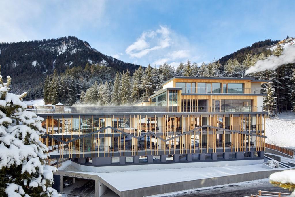 Excelsior Dolomites Life Resort von außen