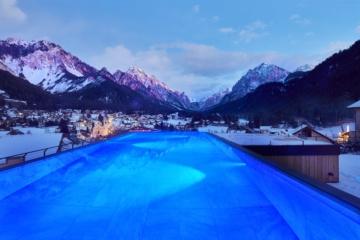 Excelsior Dolomites Life Resort, Sky SPA Infinity Pool