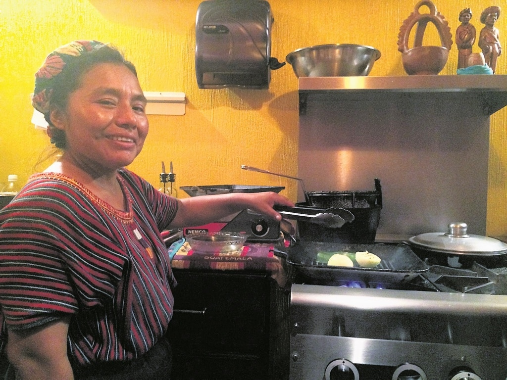Senora Pu in Guatemala-Stadt