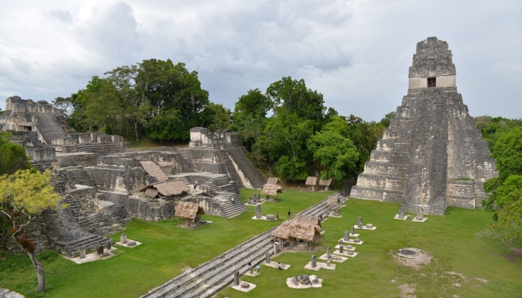 Pyramide in Tikal, Guatemala