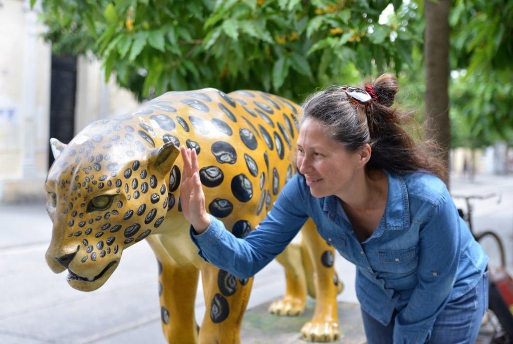 Städteführerin Olga in Guatemala-Stadt