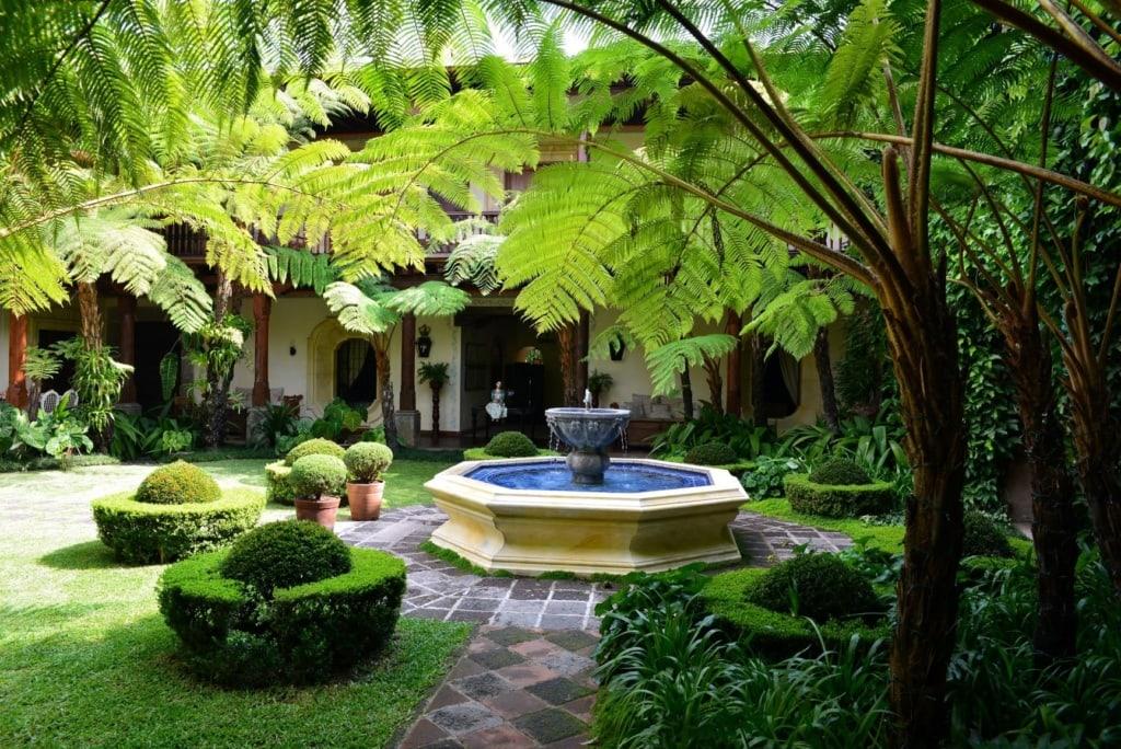 Innenhof des Antigua-Palastes
