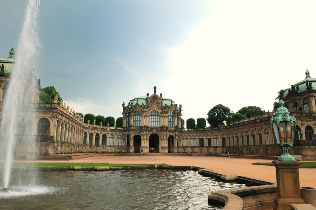 Innenhof des Zwingers in Dresden
