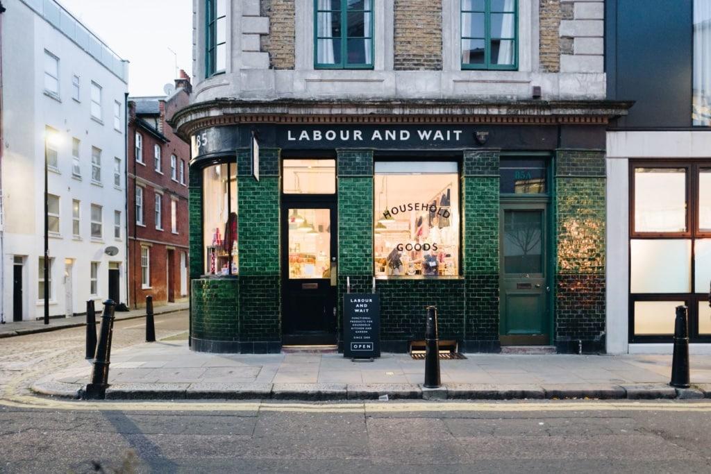 Geheimtipps in London: Labour and Wait Shop