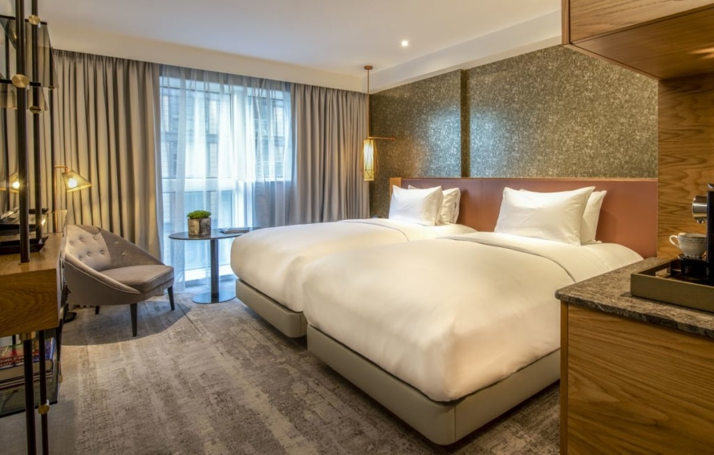 Zimmer im Lincoln Plaza London