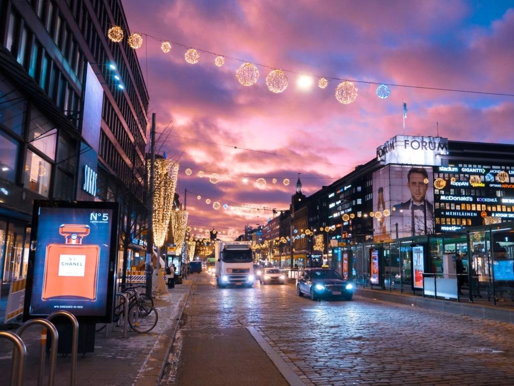 Mannerheimintie in Helsinki