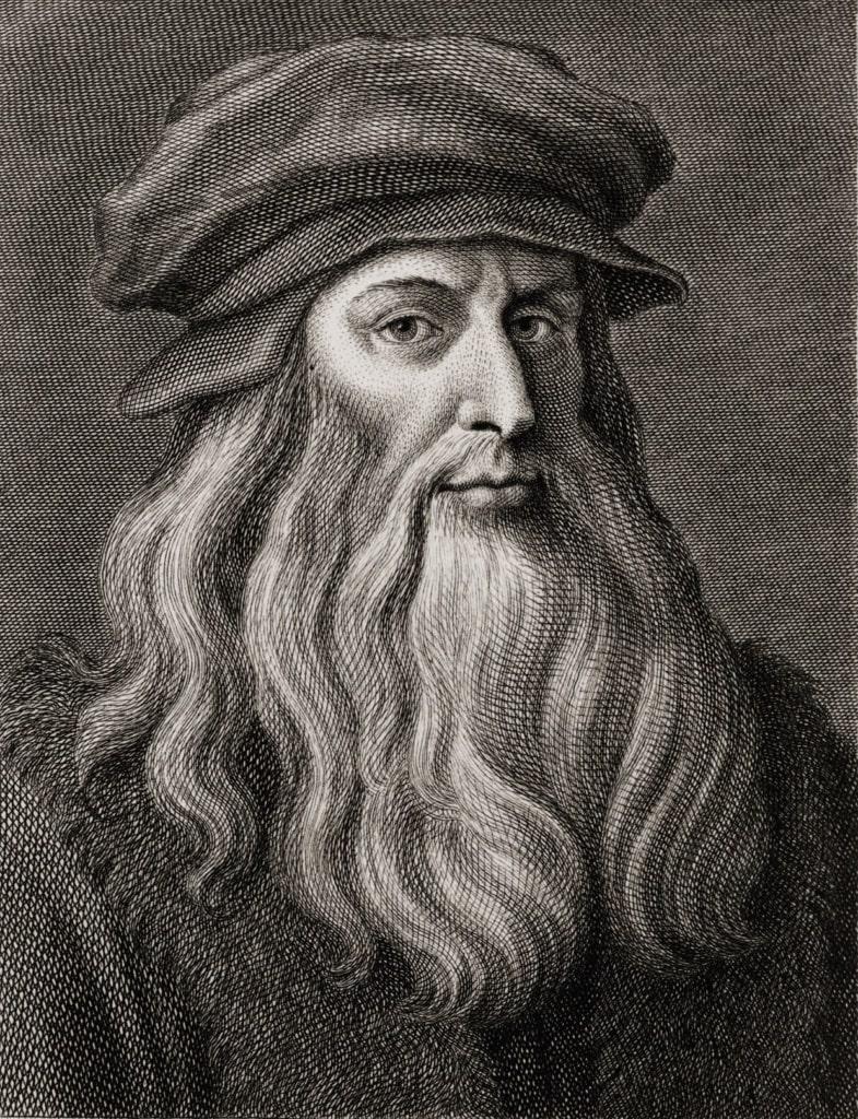 Portrait Leonardo da Vinci