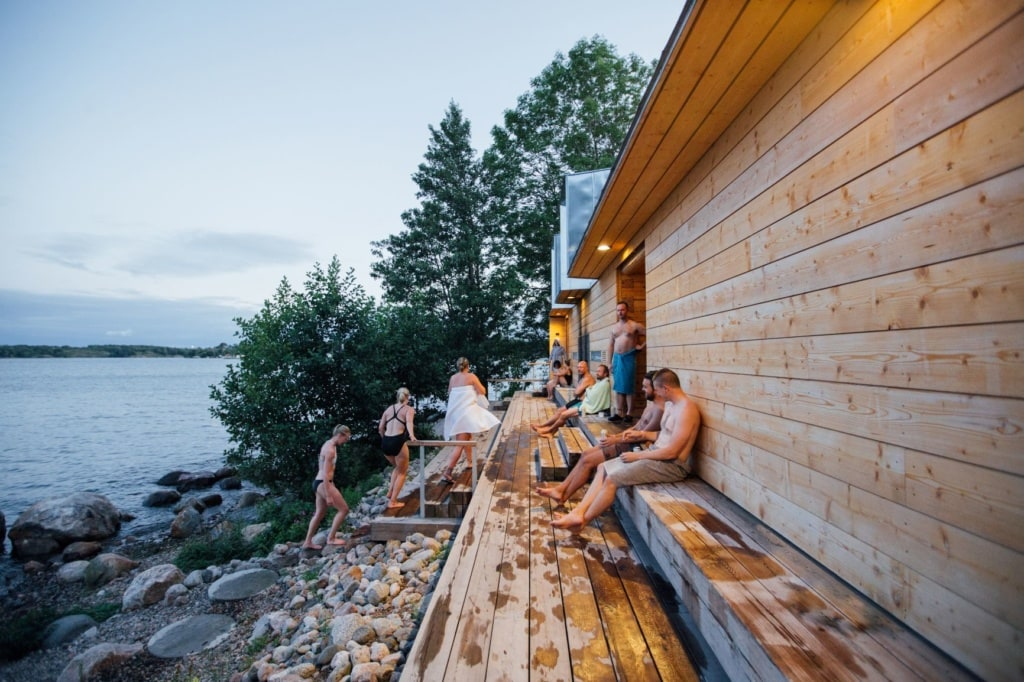 Sauna in Lonna