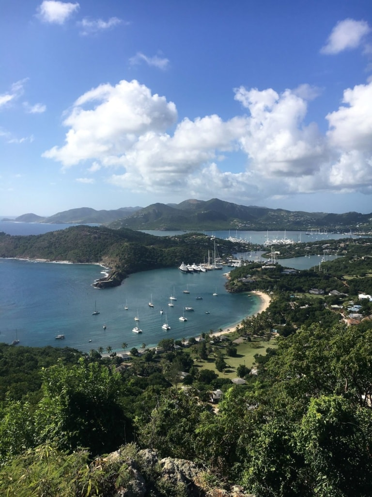 Aussichtsplattform Shirley Heights in Antigua