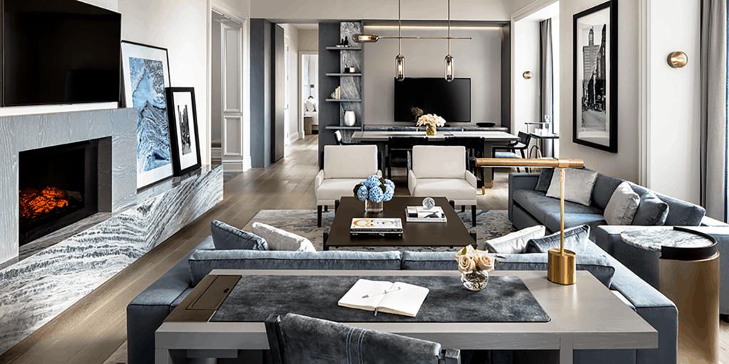Regis Caroline Astor Suite Livingroom