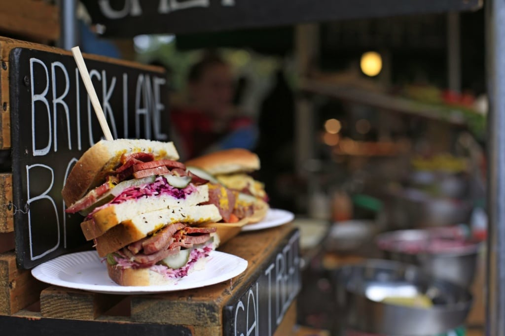 Sandwich, Street-Food in London