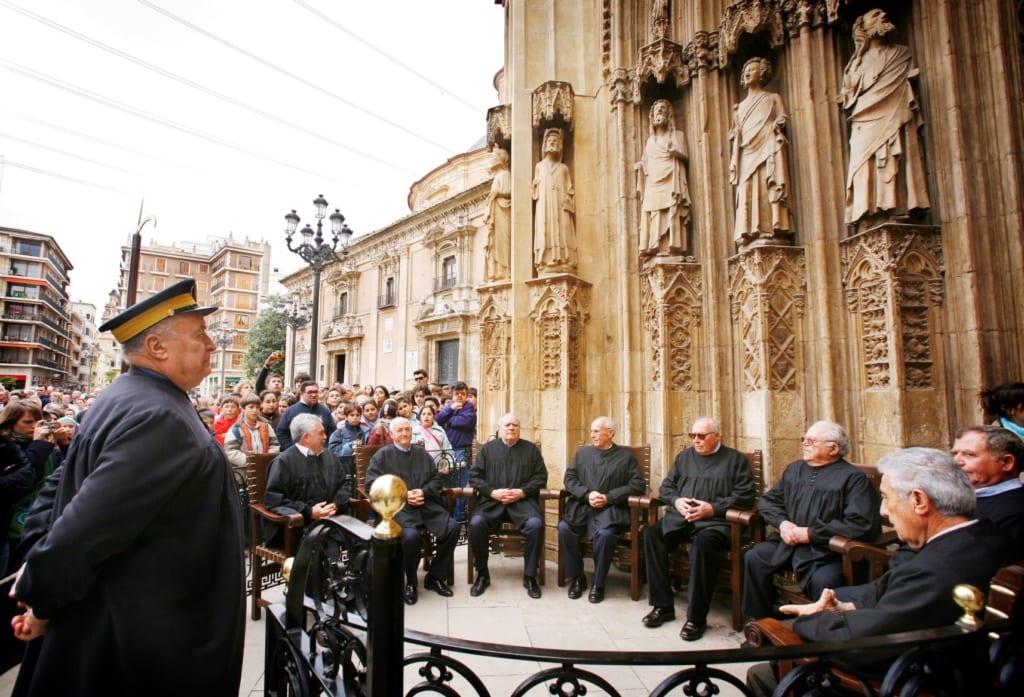 Tribunal de les Aigües in Valencia