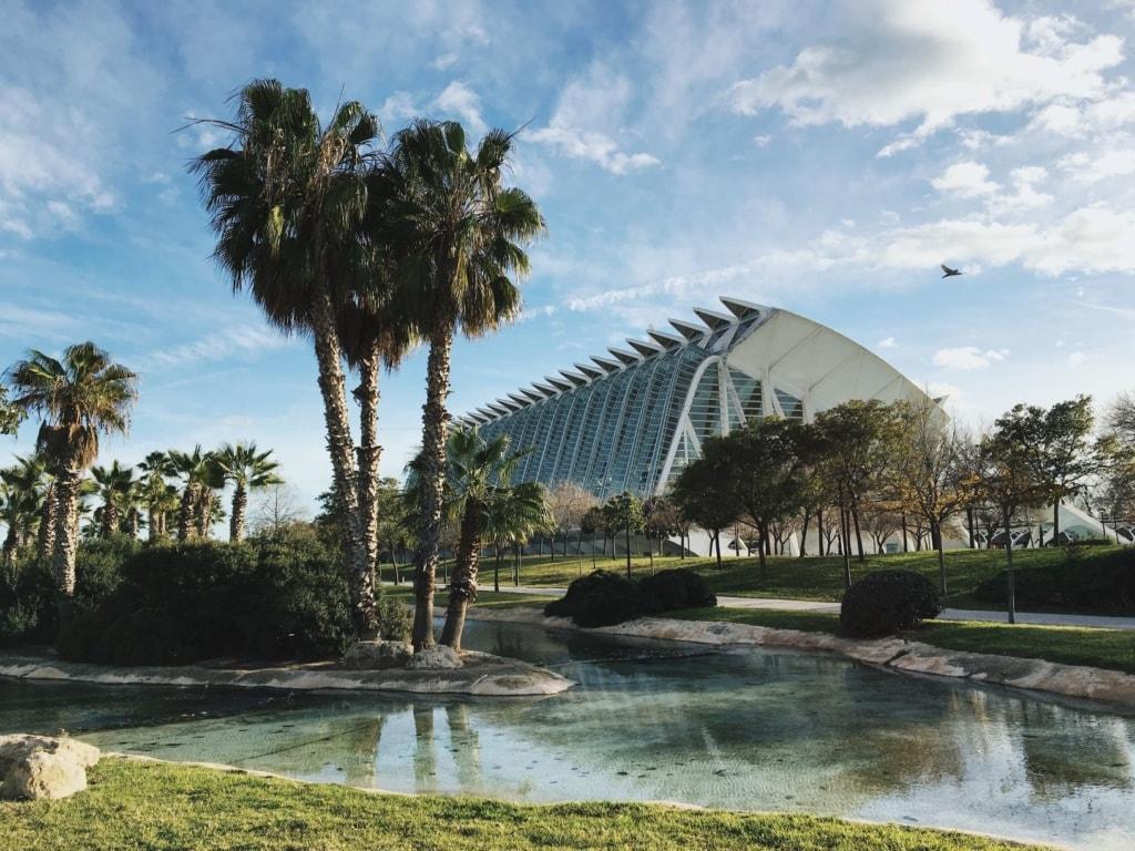 Turia-Park in Valencia