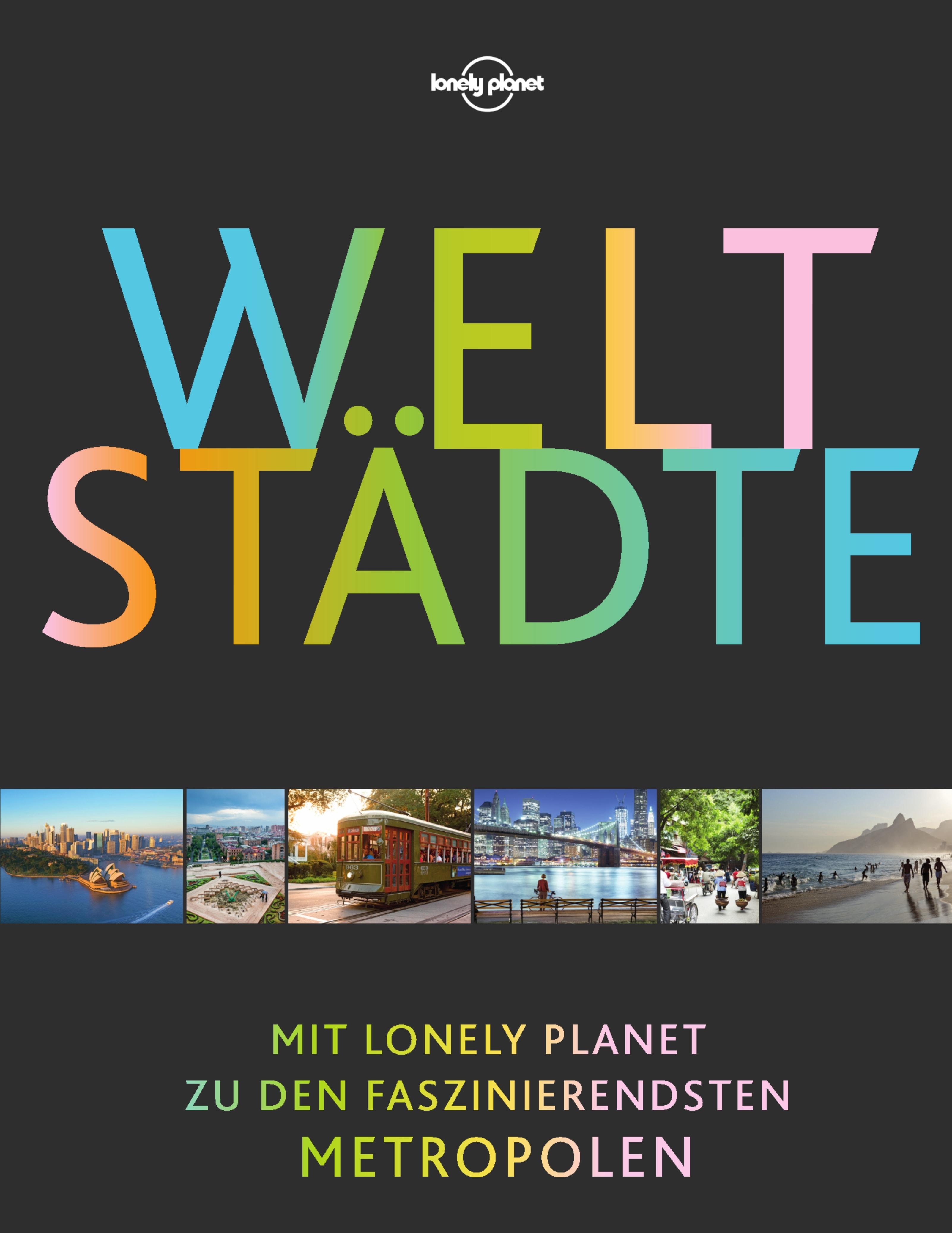 Cover des Buches Weltstädte von lonely planet
