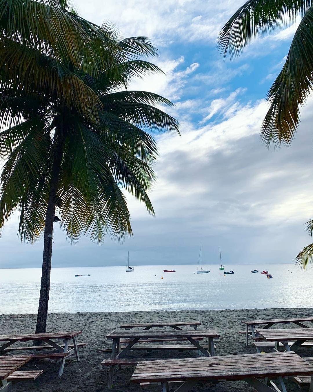 Für Autorin @aspirinia ging es gestern trotz Flugangst in die Karibik – und zwar nach Martinique. Diese Aussichten entschädigen doch glatt die lange Flugzeit, oder nicht? #reportervororr #martinique #travelgram #travel #passionpassport #mytinyatlas #islandlife #karibik