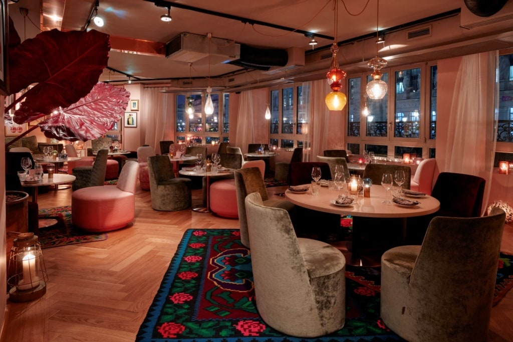 Restaurant im 25hours Paris
