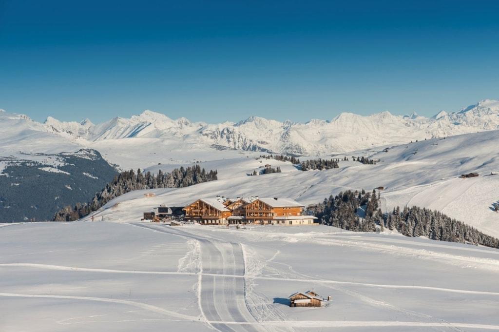 Alpenhotel Panorama in Südtirol im Winter