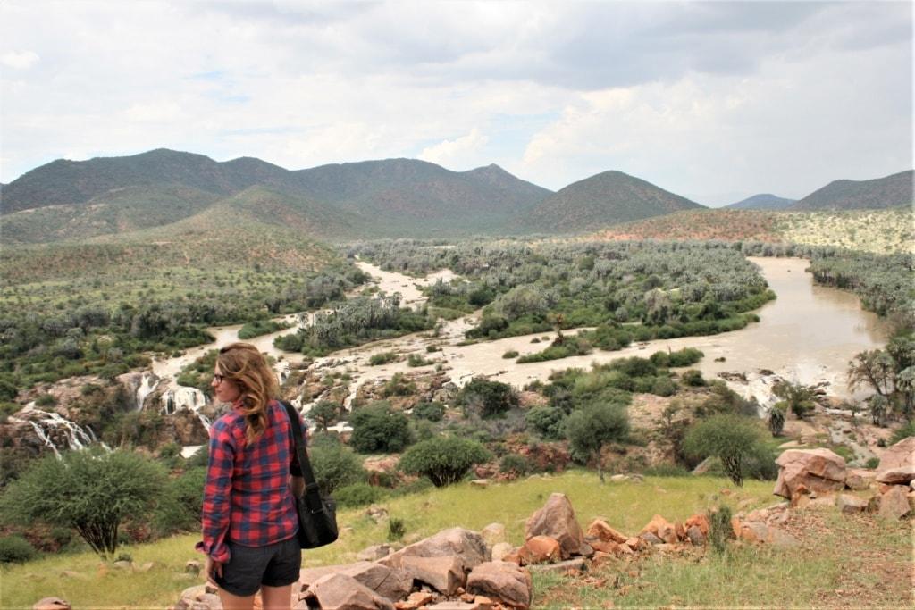Nach Wochen Reise durch Namibia hat Autorin Marie endlich das Gefühl, ihr Ziel erreicht zu haben.