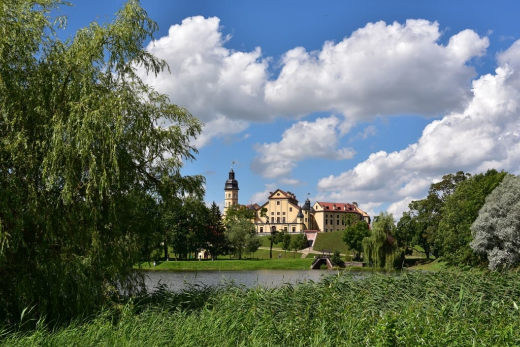 Schloss in Njaswisch