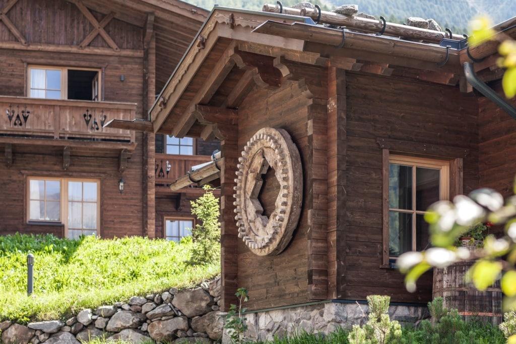 Edelweiss-Chalets in Südtirol
