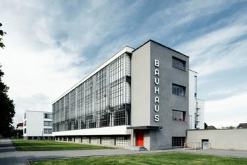 Bauhaus-Gebäude in Dessau
