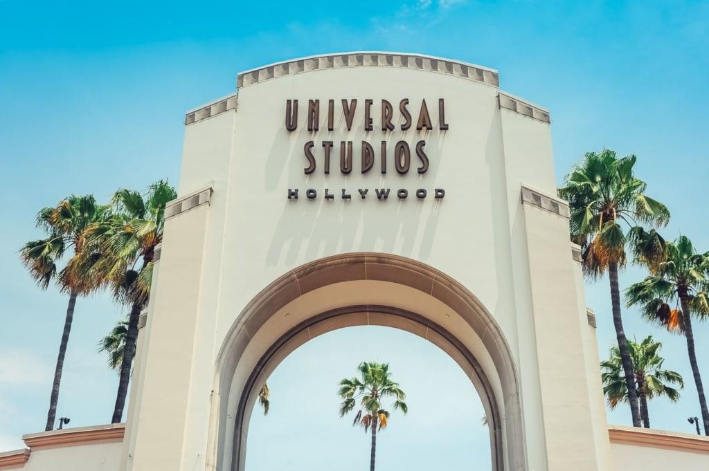 Eingangstor Universal Studios Hollywood