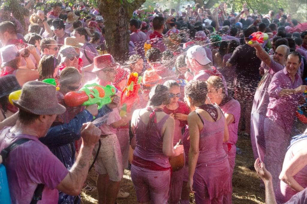 La-Batalla-Festival in Spanien