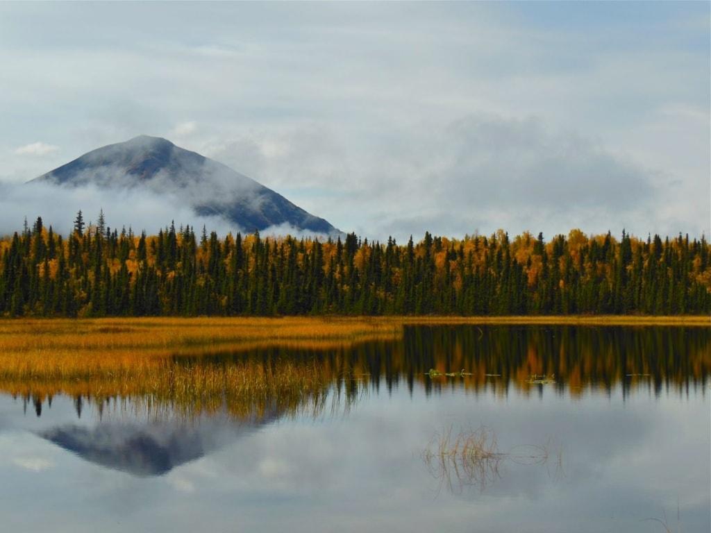 Lake Clark in Alaska