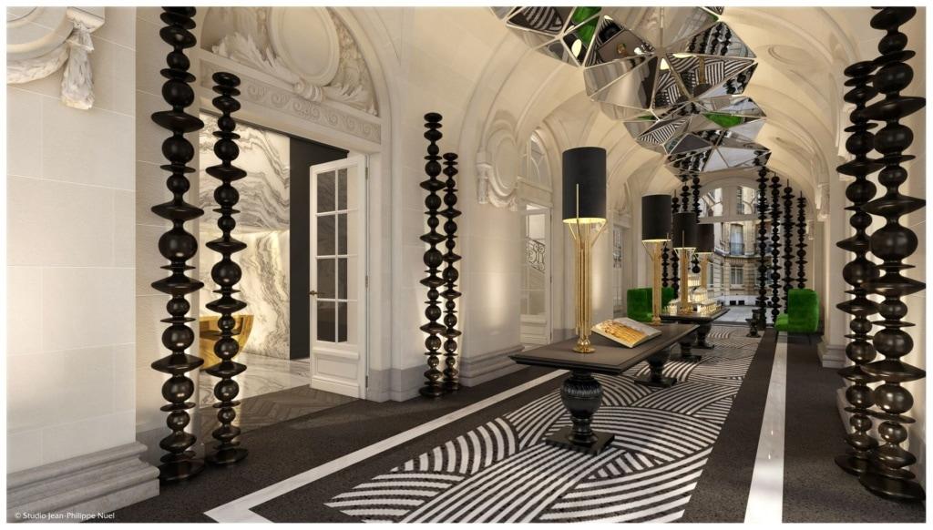 Lobby im La Clef Champs Elysées