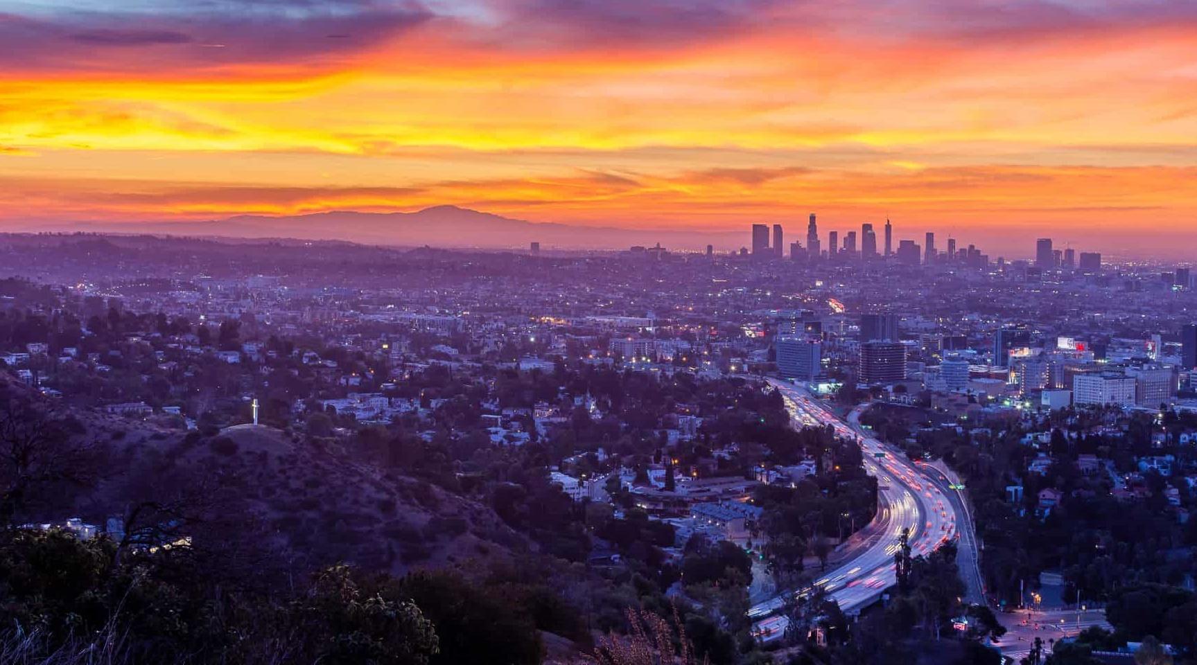 Zeit Los Angeles Jetzt