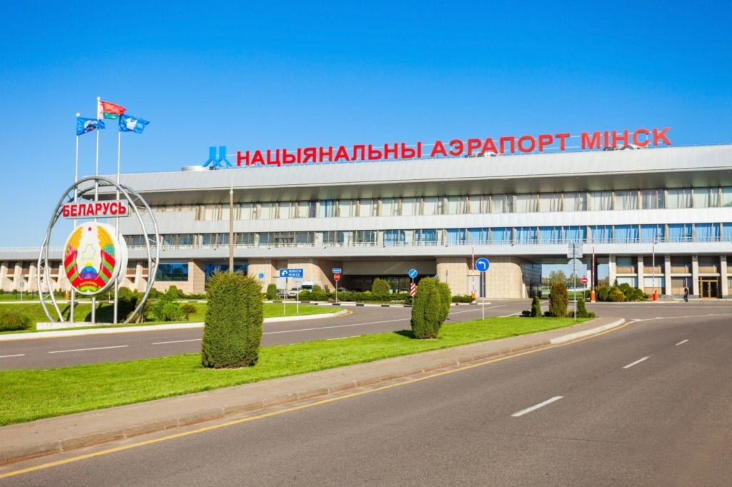 Flughafengebäude Minsk