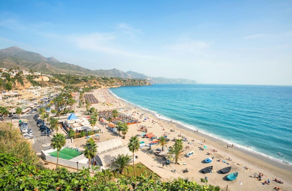 Nerja. Malaga province, Costa del Sol, Andalusia