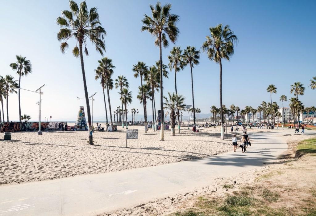 Promenade in Venice Beach