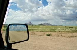 Bei ihrem Roadtrip durch Namibia passierte Marie auch das Erongo-Gebirge.