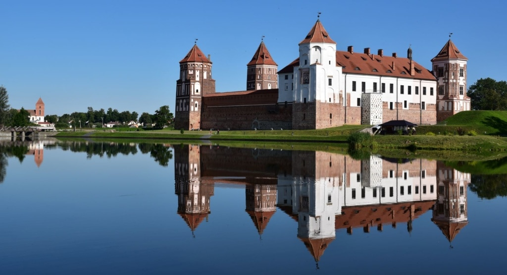 Schloss in Mir in Weißrussland