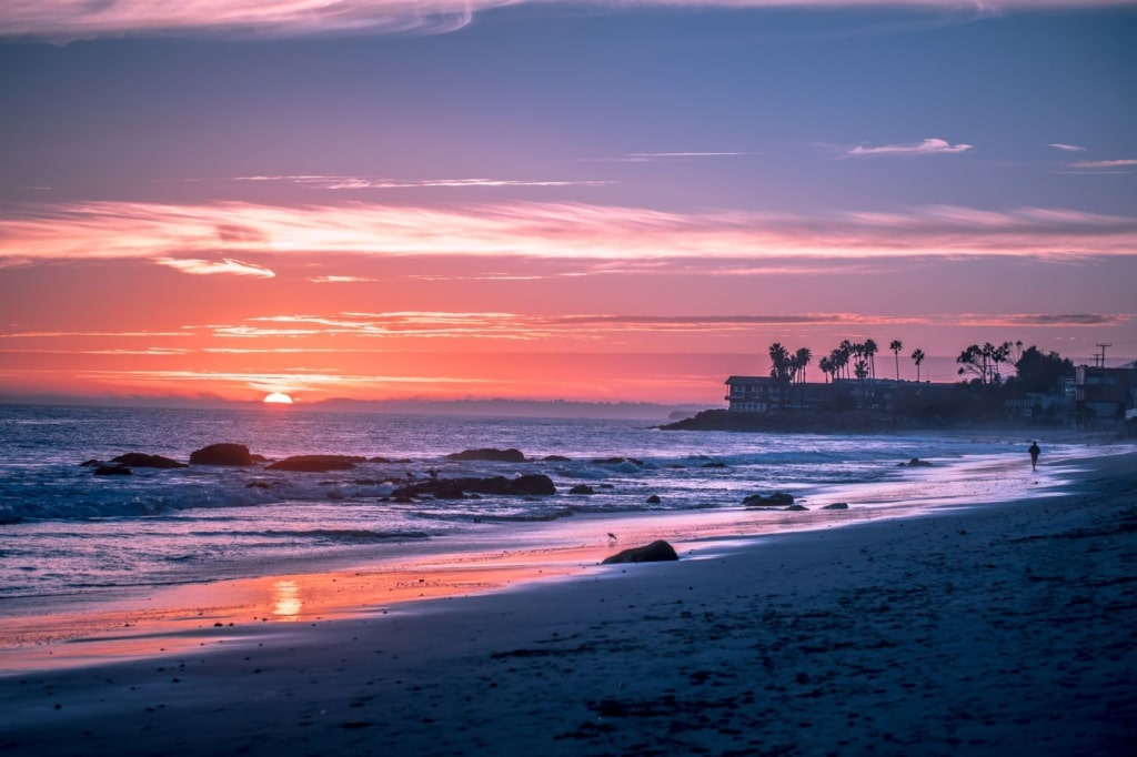 Strand in Malibu
