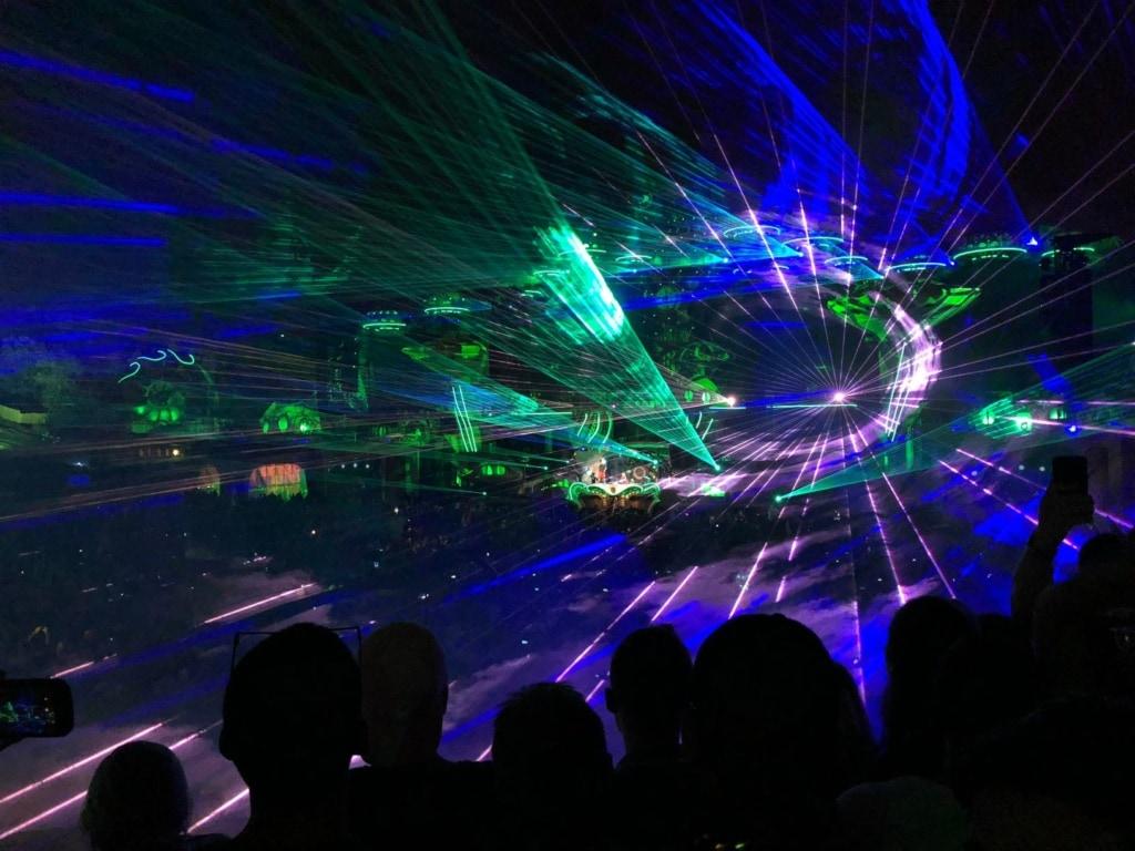 Tomorrowland-Festival in Belgien