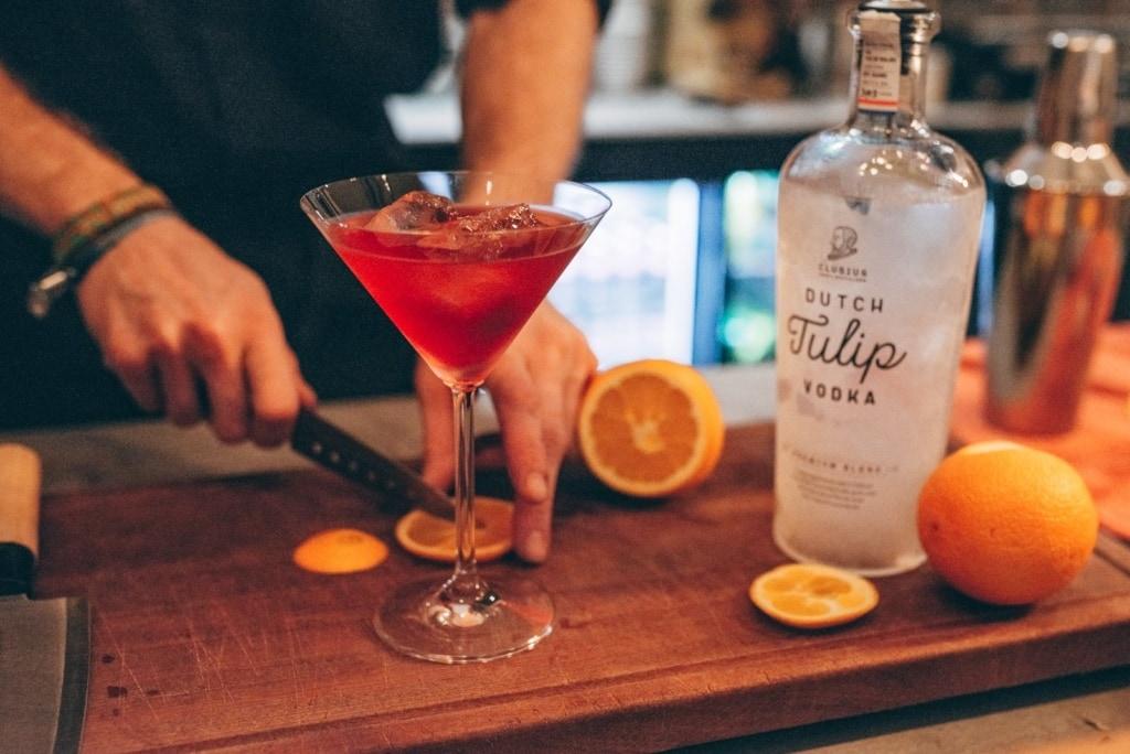 Aus Tulpenzwiebeln lässt sich sogar «Dutch Tulip Wodka« destillieren.