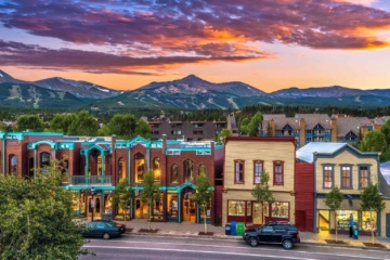 Main Street Breckenridge Summer