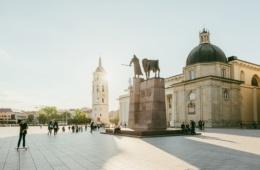 Kathedralenplatz Vilnius