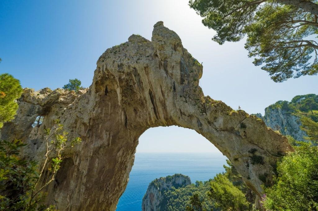 Arco Naturale auf Capri